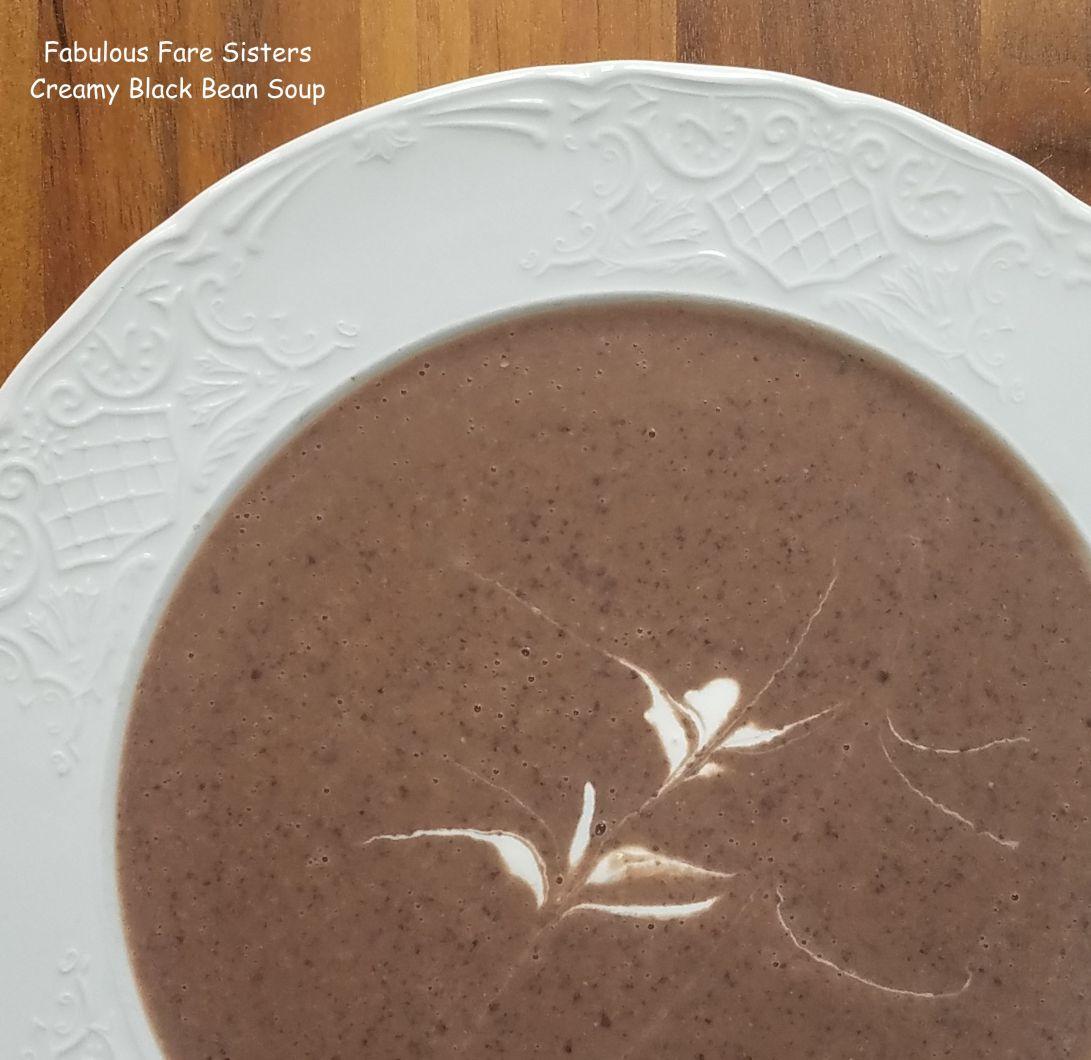 Creamy Black Bean Soup