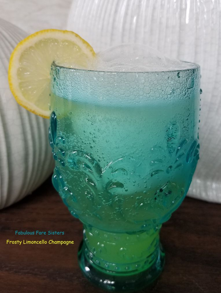 Frosty Limoncello Champagne 1