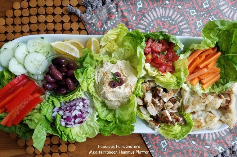 Mediterranean Hummus Platter