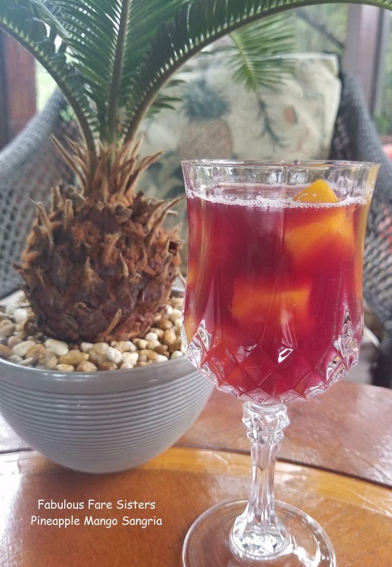 Pineapple Mango Sangria