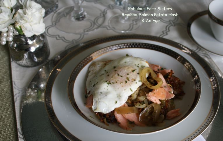 Smoked Salmon Potato Hash