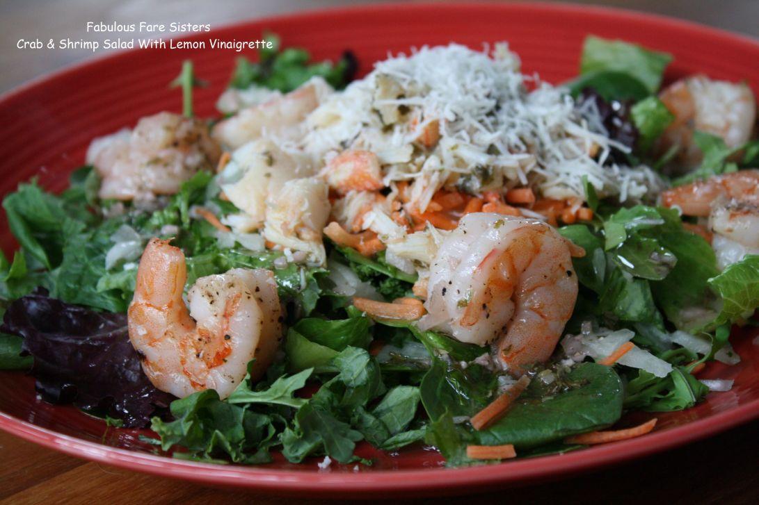 Crab & Shrimp Salad With Lemon Vinaigrette