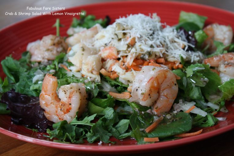 Crab & Shrimp Salad With Lemon Vinaigrette
