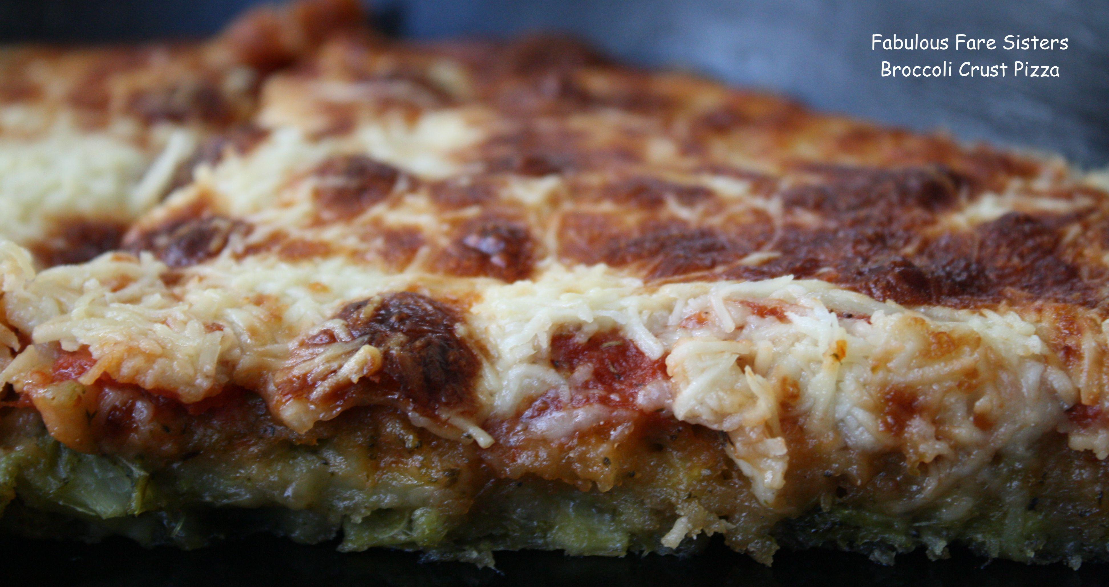 Broccoli Crust Pizza 1