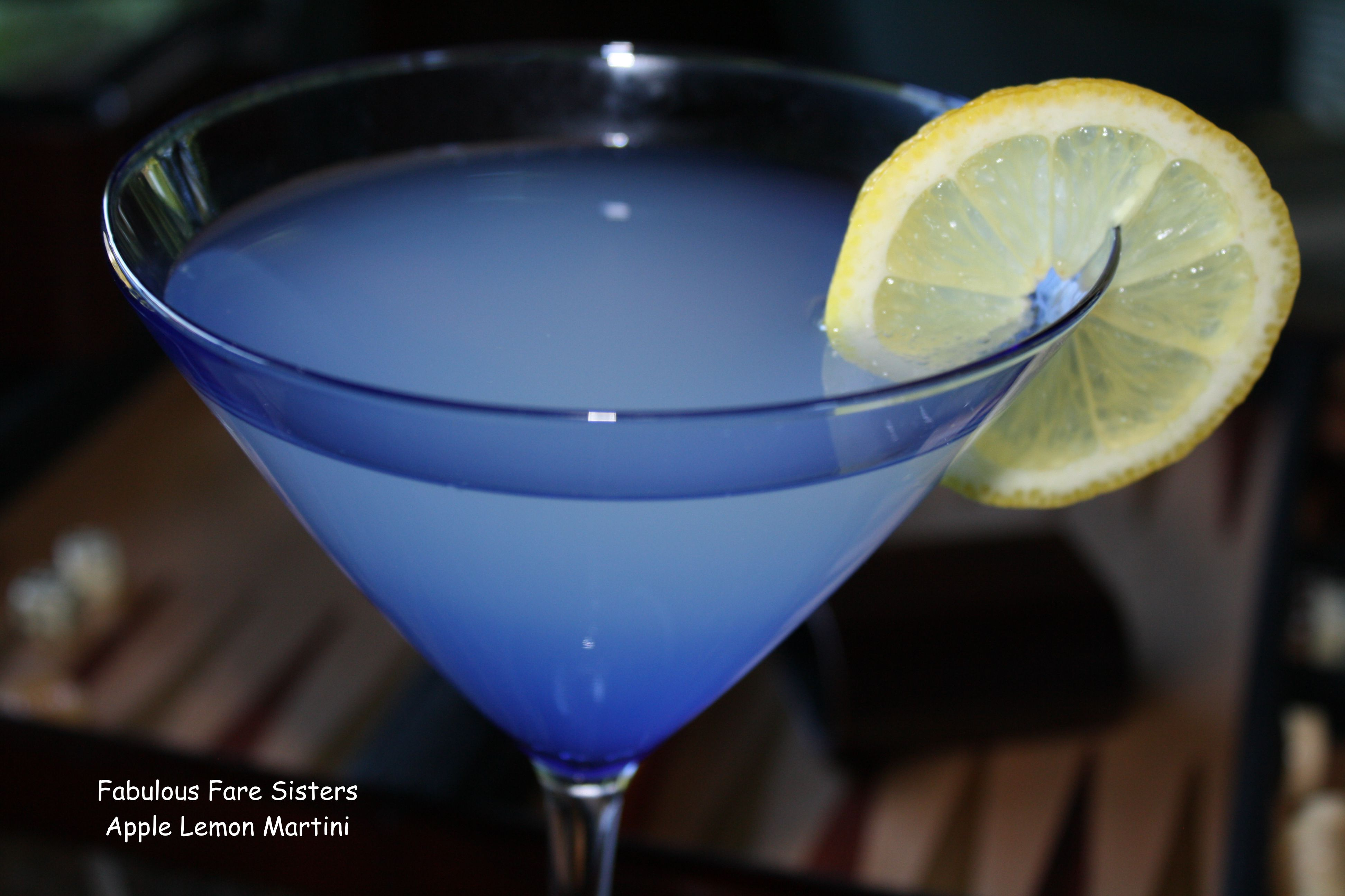 Apple Lemon Martini