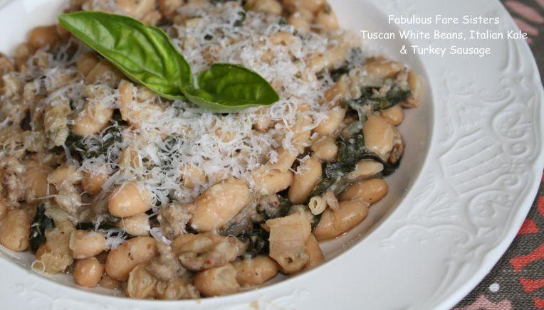Tuscan White Beans, Italian Kale & Turkey Sausage 1