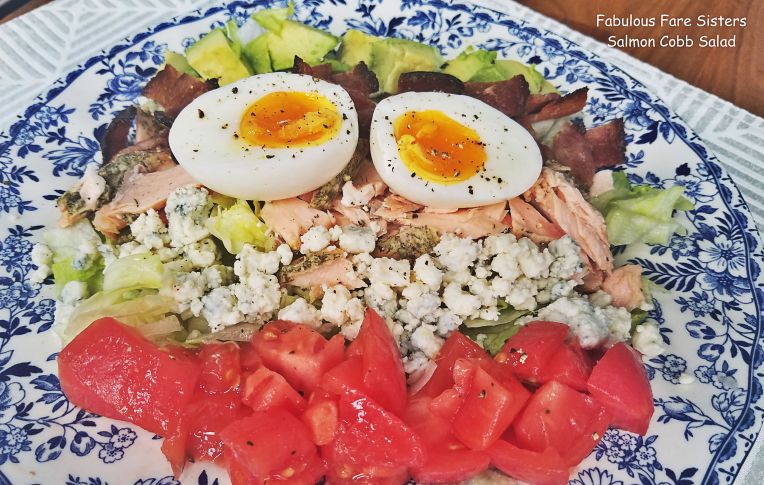 Salmon Cobb Salad 1
