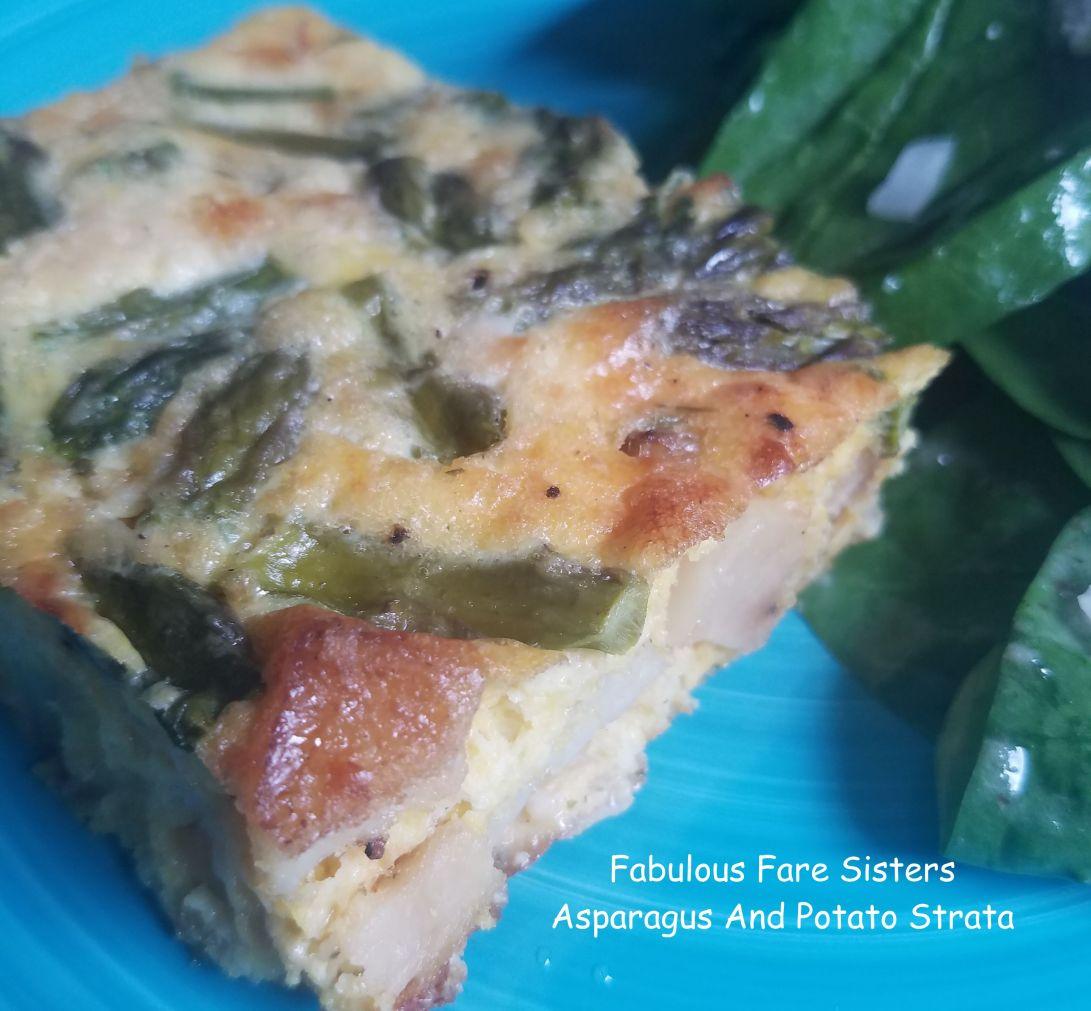 Asparagus And Potato Strata
