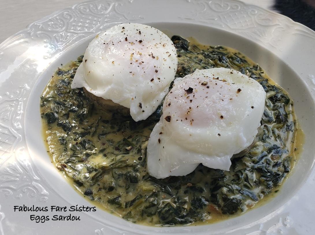 Eggs Sardou 2
