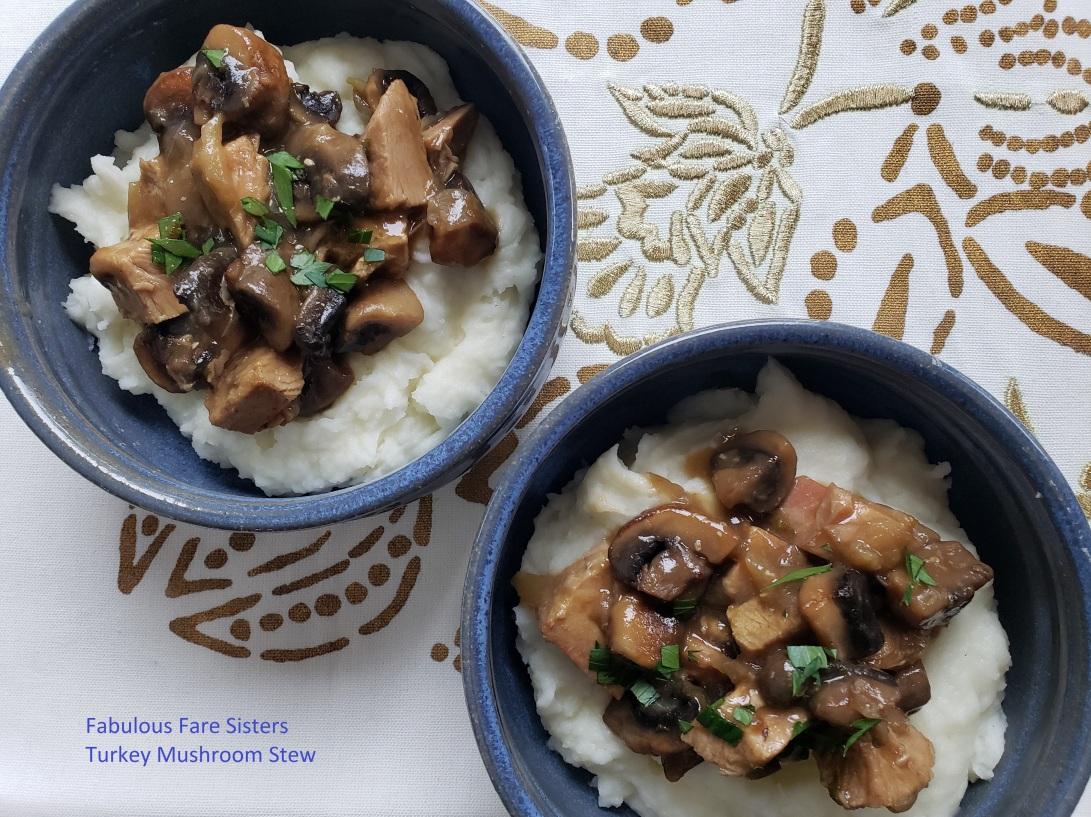 Turkey Mushroom Stew