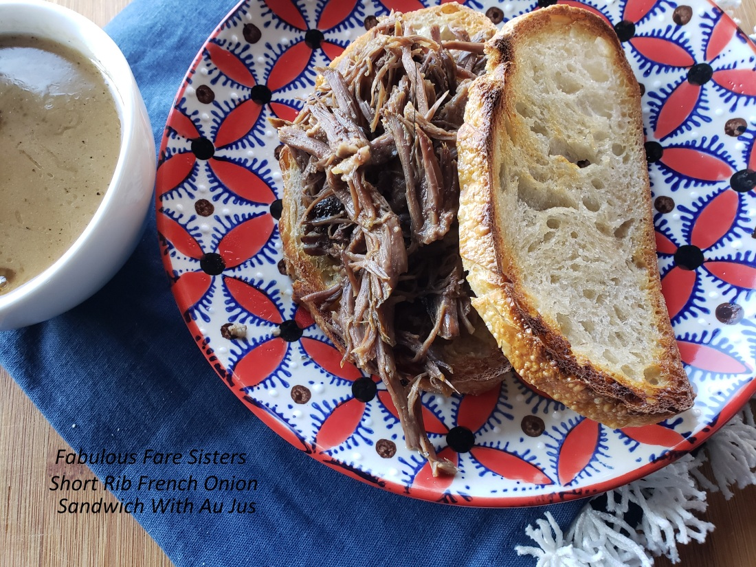 Short Rib French Dip 1